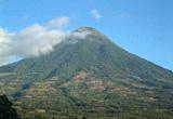 グアテマラ アグア火山