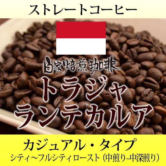 自家焙煎 コーヒー トラジャランテカルア
