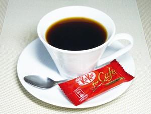 自家焙煎コーヒーとキットカットのセット