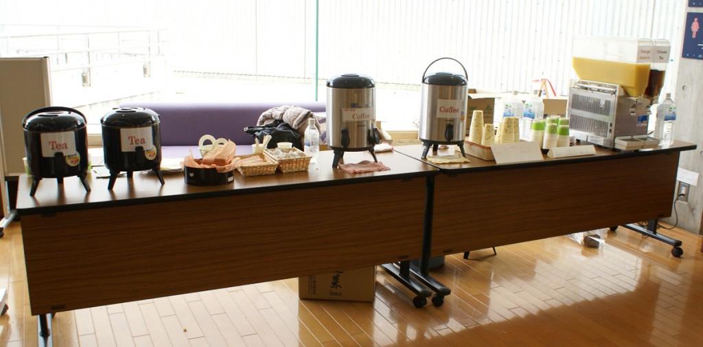 イベントのコーヒーサービス