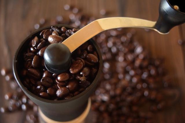 コーヒーの挽き方